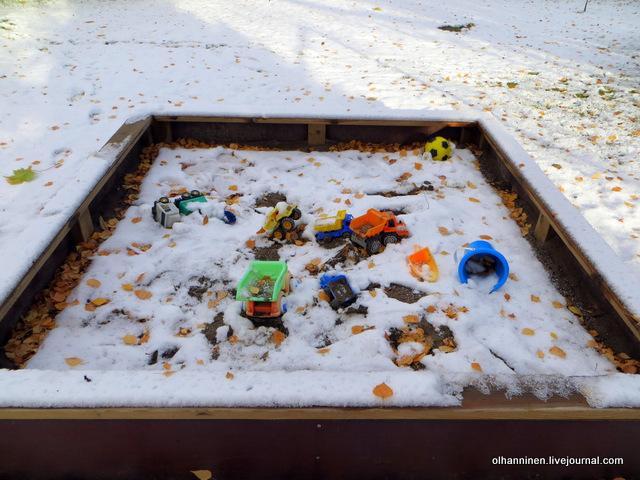 07 песочница в снегу