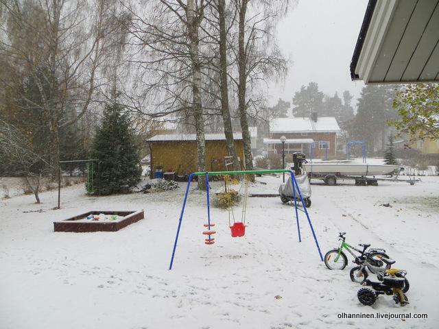 08 лодка в снегу