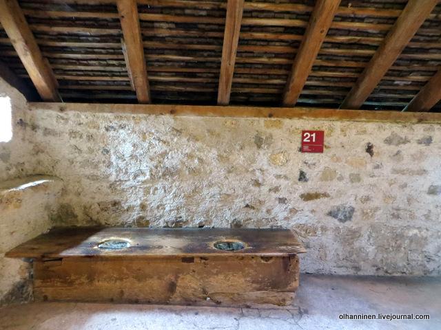 Туалет в Шильонском замке