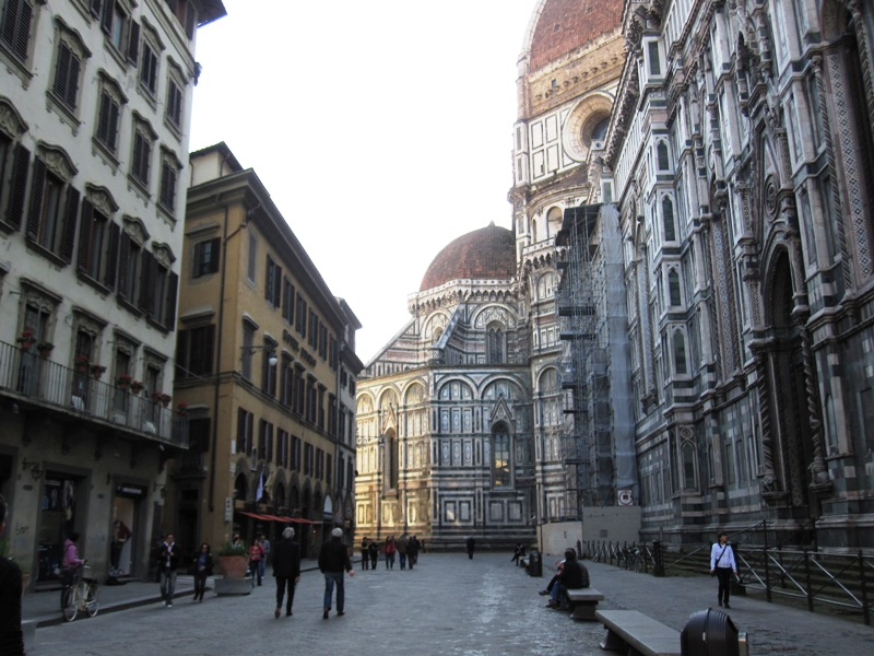 Мы во Флоренции, онаСвоеобразия полна