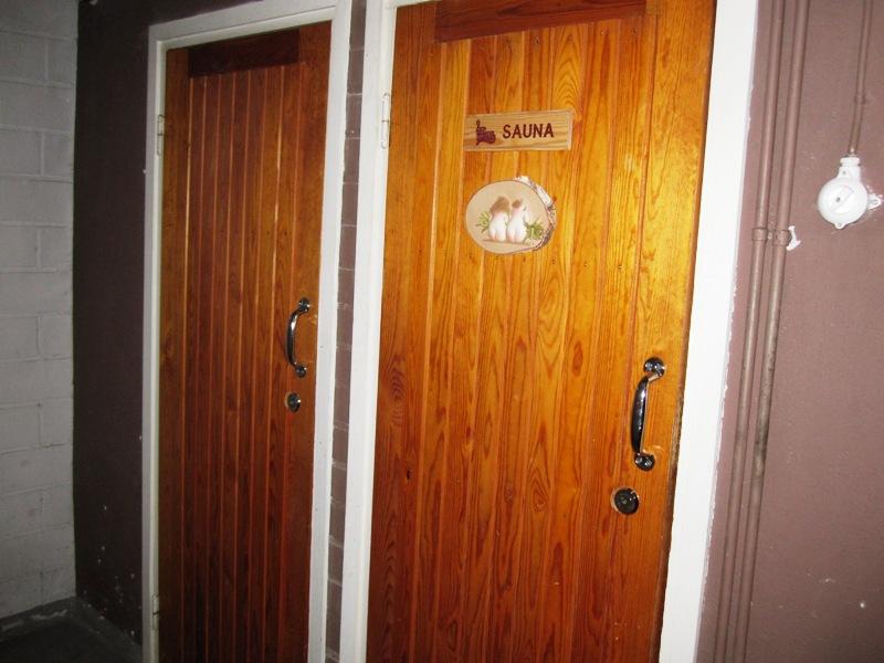 Подвал в нашем доме на 10 квартир типичный для Финляндии в целом