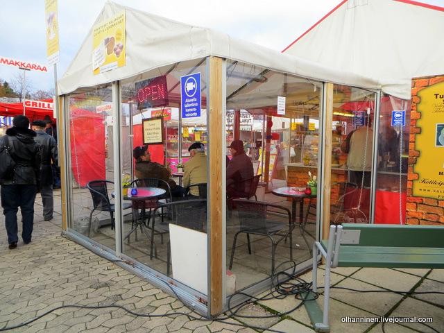 29  кафе в палатках