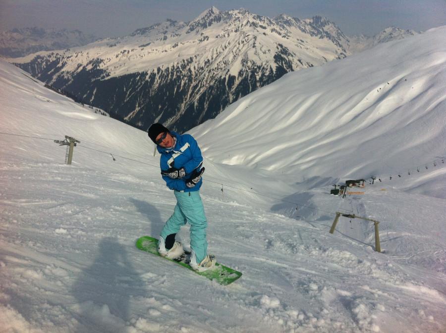 love snowboard