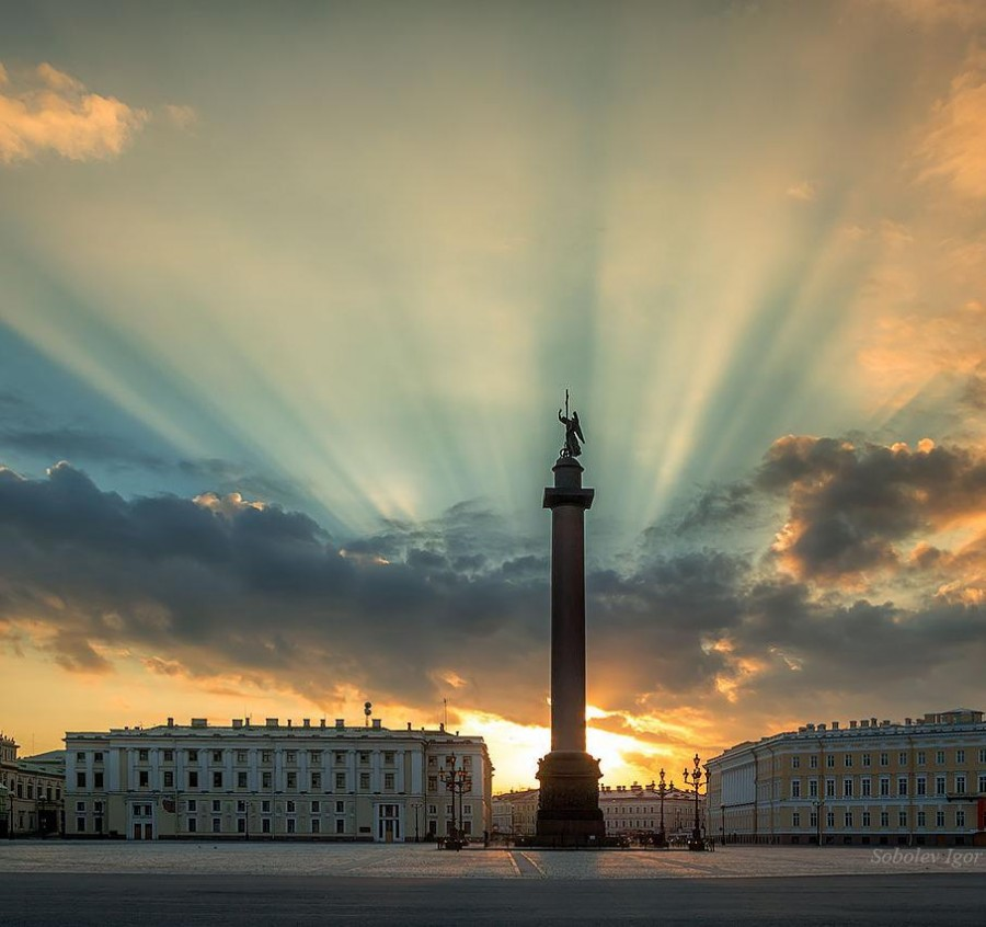 Легенды Александровской колонны