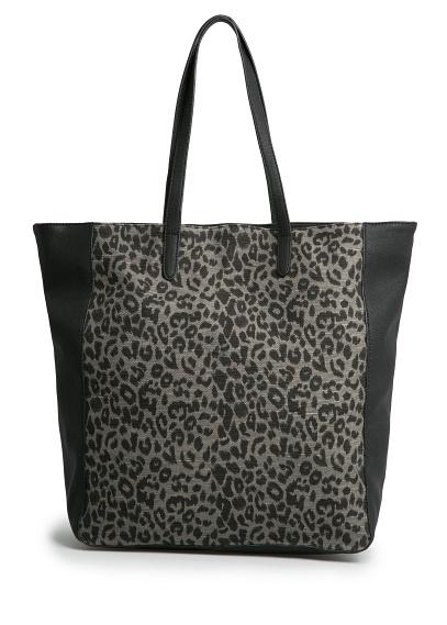 манго леопард 1299  из натуральной смесовой ткани хлопок и джут