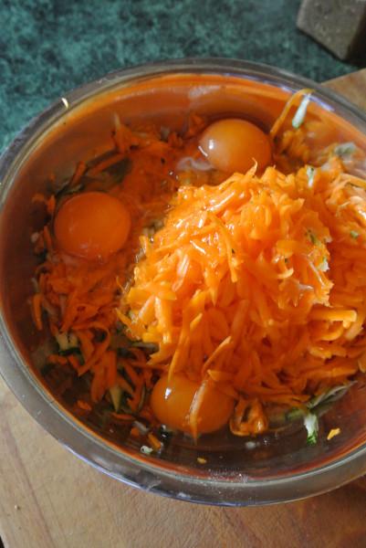 оладьи овощные (2)