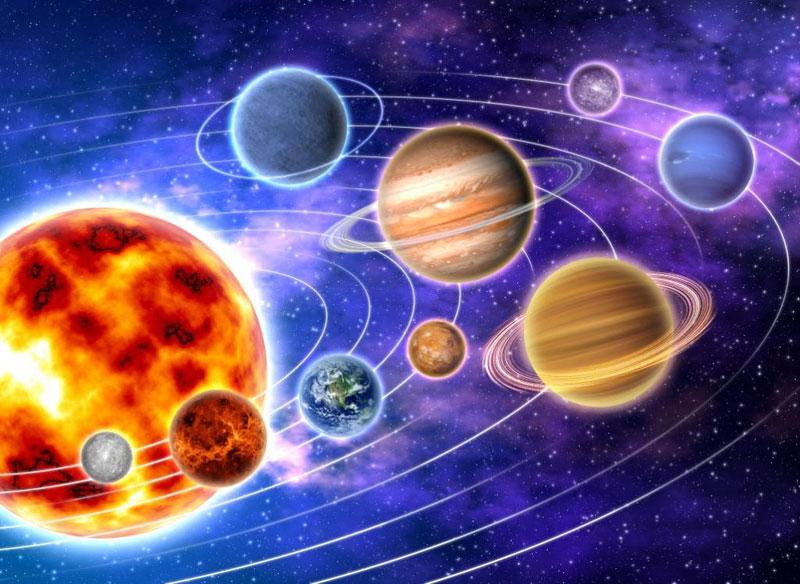 Открытки юбилею, картинки планеты солнечной системы