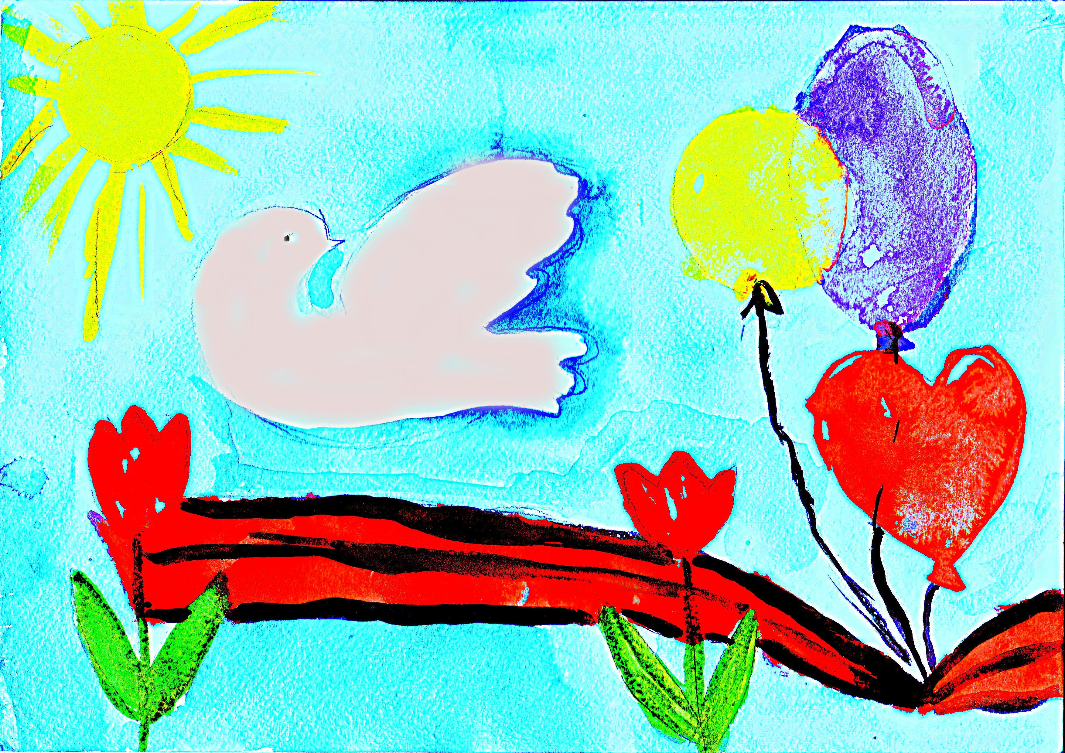 день победы для детей картинки