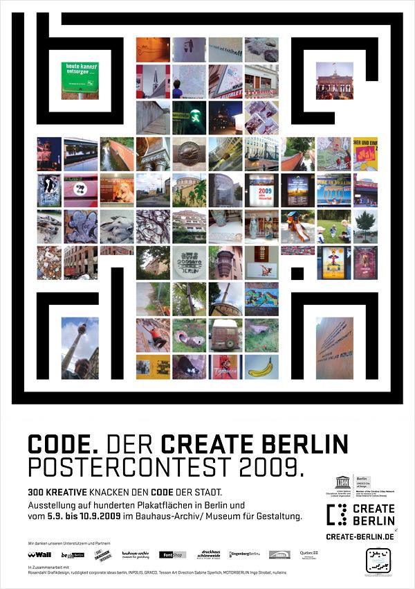 CODE Berlin 2009, 1. Plakat