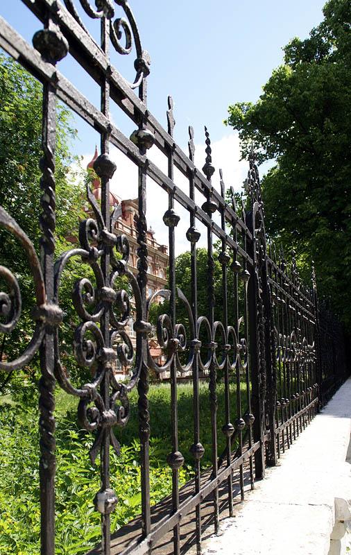 Ограда педуниверситета