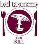 bad taxonomy
