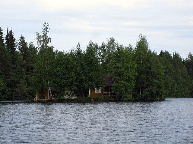 Мой любимый озерный домик