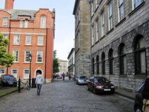 Мощеные дворы университета