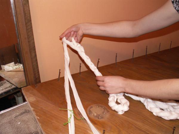 Ткацкий станок для изготовления деревенских половиков