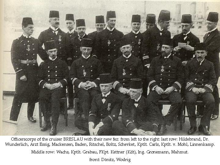Offizierkorps der Breslau