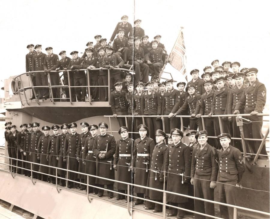U-873Commissioing