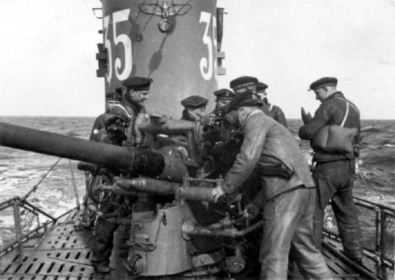 U-35-Entrainementautircanonavantguerre