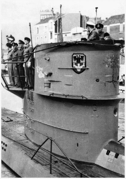 U-73-Dpartenmission-StNazaireen1941