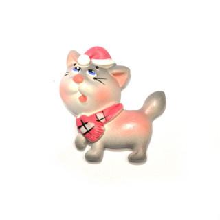 кот в розовом колпаке