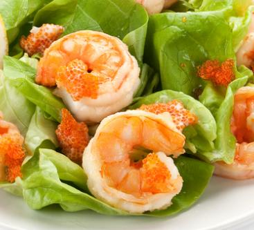 как приготовить салат эби уми сарада рецепт