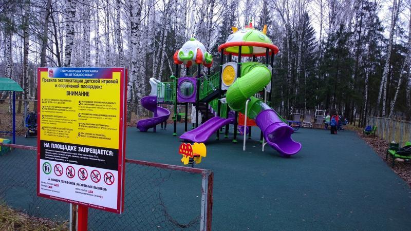 Детская площадка в Заре