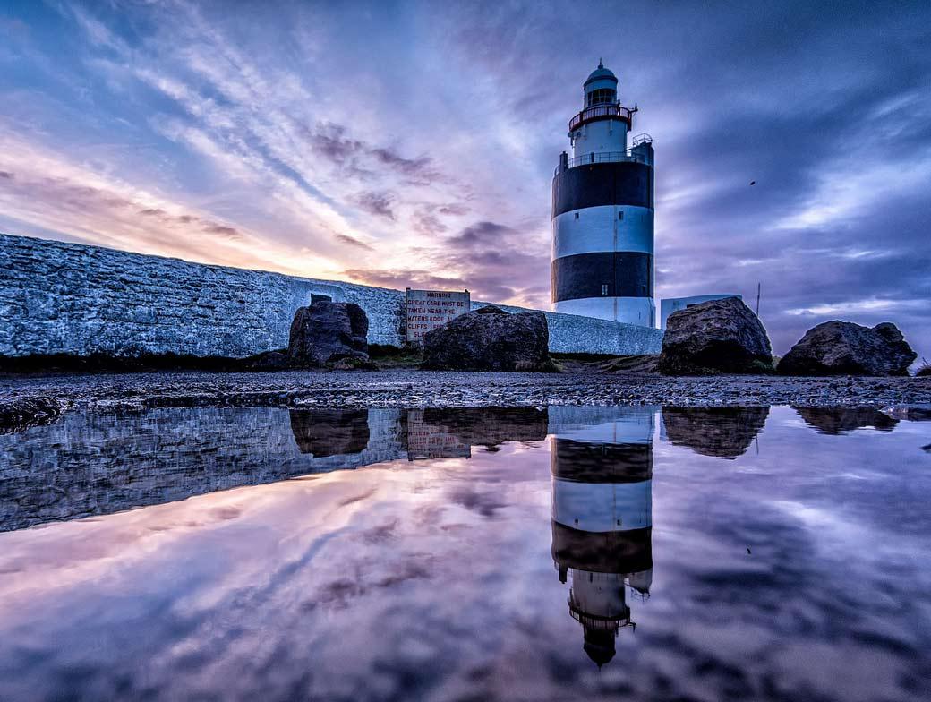 Маяк Хук Хэд - самый старый действующий маяк в Ирландии