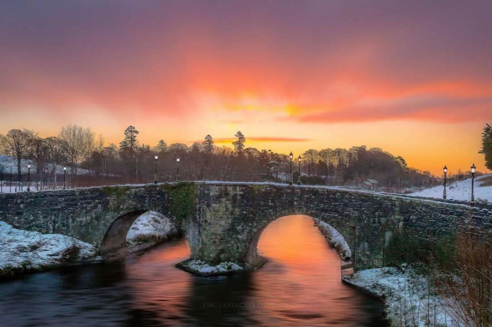 Мост Короля Джеймса в Северной Ирландии.