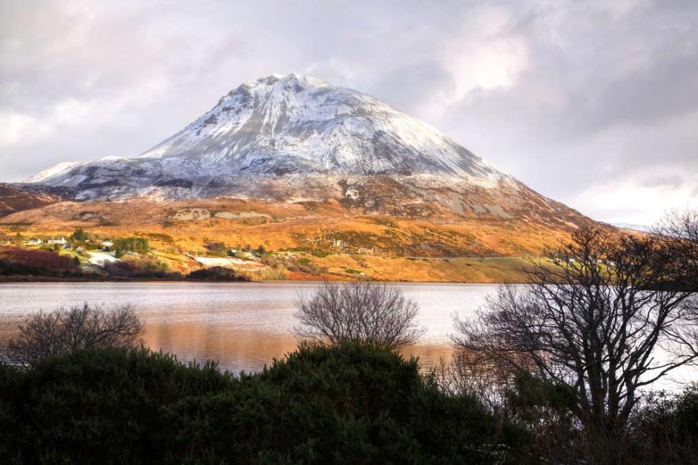 Гора Errigal, Графство Донегол.