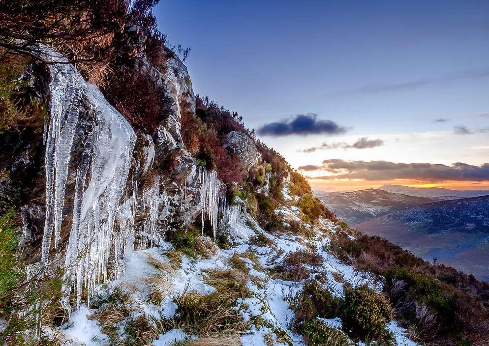 Горы Уиклоу зимой выглядят волшебно.