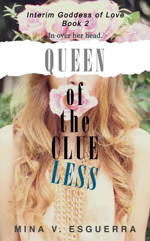 Book 2 - Queen of the Clueless Book Cover