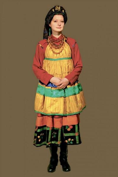 Народный костюм, фартук, передник