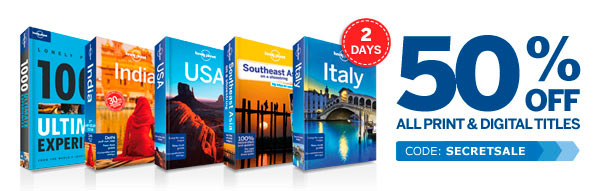 Lonely Planet sales