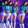SNSD Soccer Girl Complete Outfit in Green