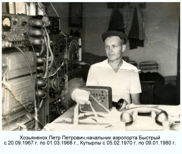 Хозьяненок Петр Петрович