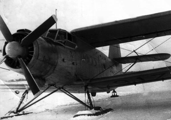 Ан-2 в Усть-Ишиме