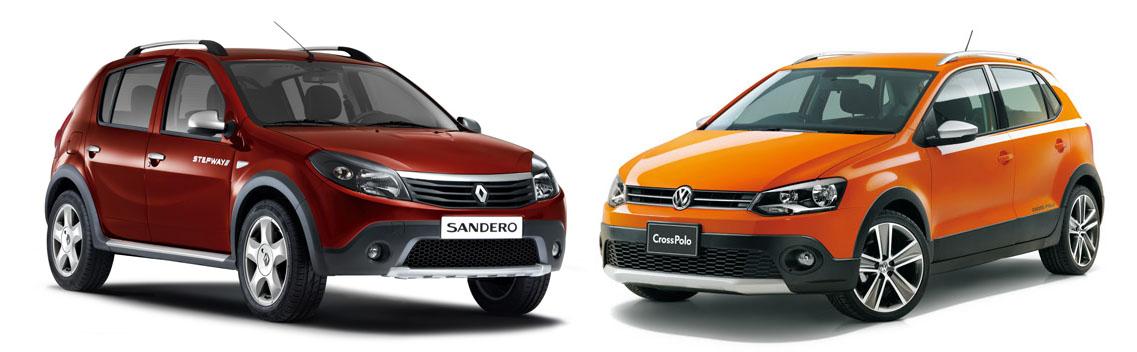 renault sandero stepway vs volkswagen polo