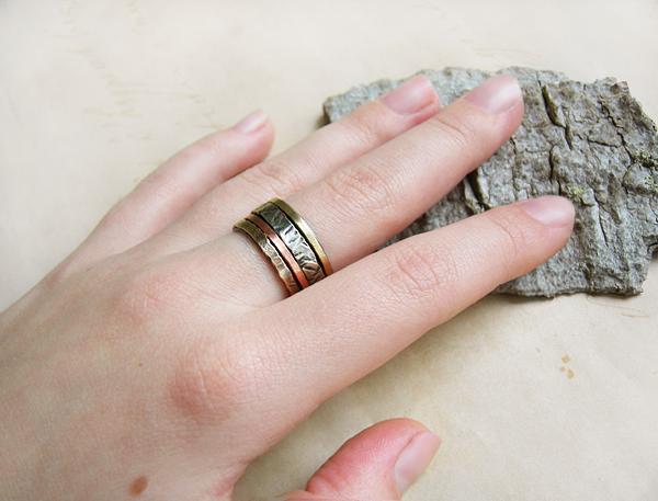 кольцо 4 металла 2
