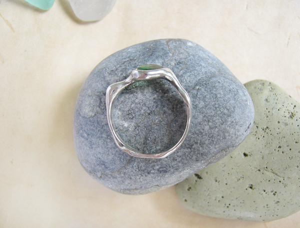 кольцо морское стекло4