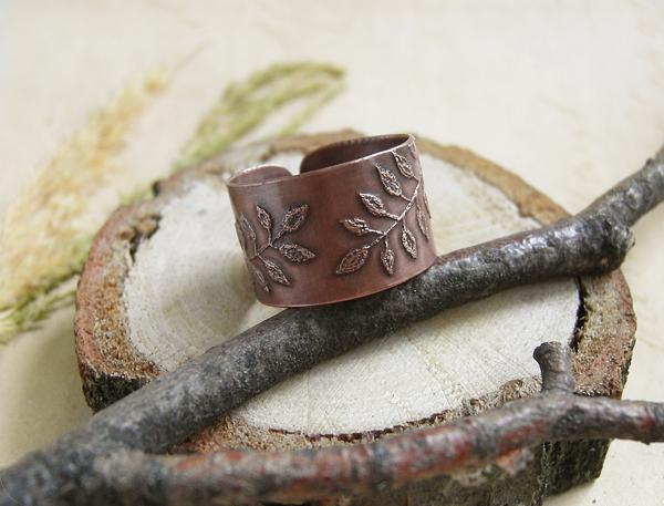 кольцо листья1