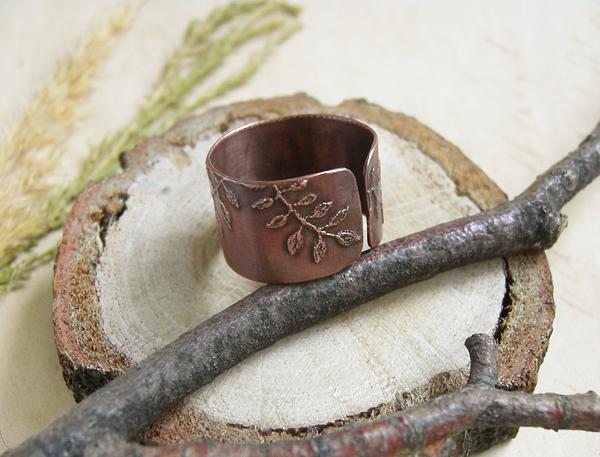 кольцо листья2