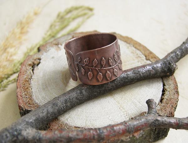 кольцо листья3