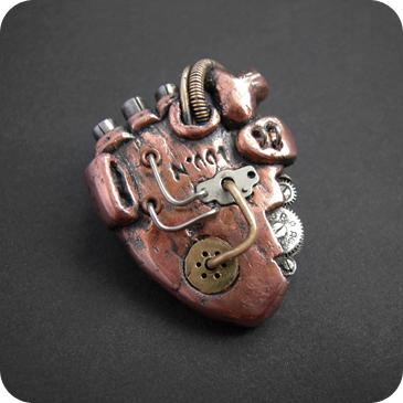 Медные механические сердца (Фото 11)