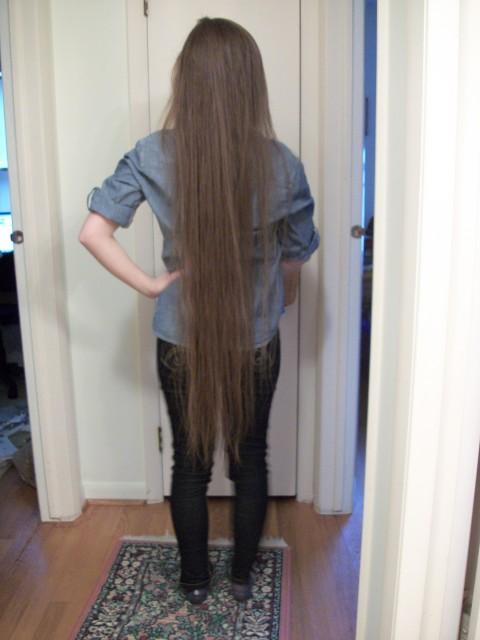 Made It To Knee Length Longhair