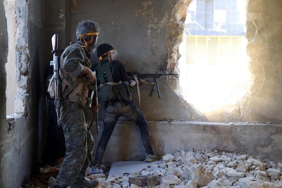 Сирия, война, Алеппо
