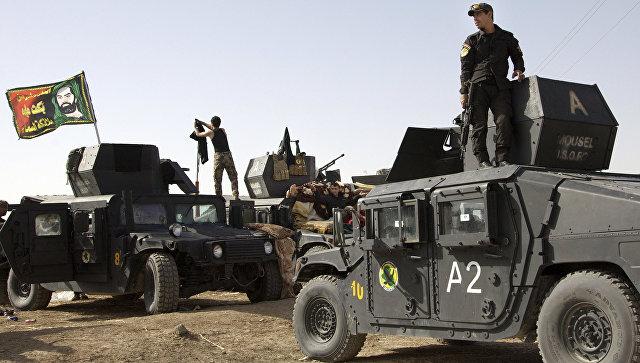 Курдские силы подошли на расстояние 3-5 километров от центра Мосула