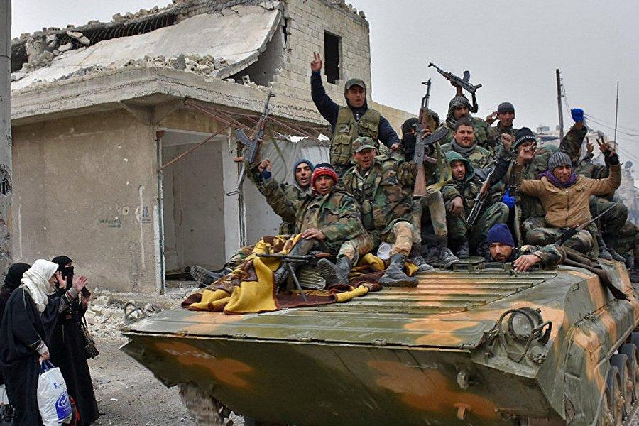 Пульс войны в Сирии и Ираке онлайн, 8 декабря