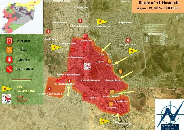 Карта Эль-Хасаке Сирия курды