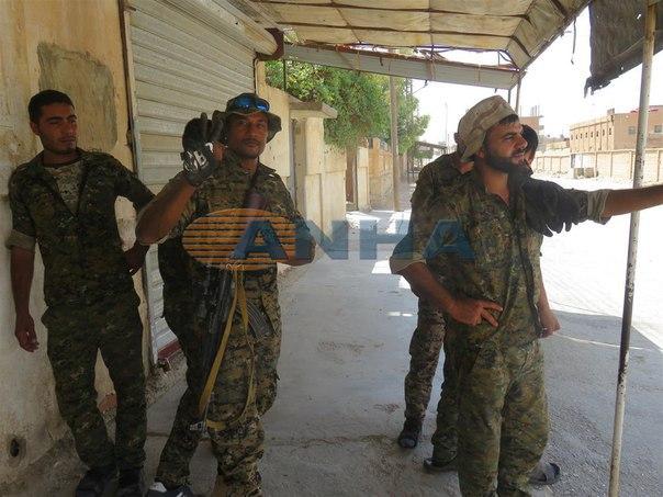 курды Сирия бой