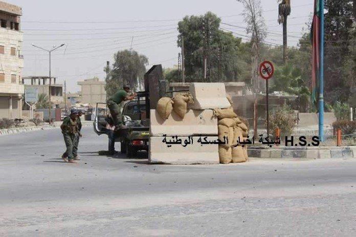 Курдская полиция «Асайиш» Хасаки Сирия война