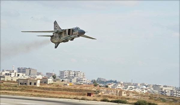 2016.08.30 14.41 Farsnews Сирийские авиаудары в городе Дейр-эз-Зур (Сирия, САА, ВВС Сирии, ИГИЛ)